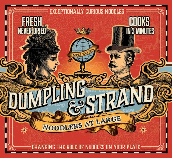 Dumpling & Strand Label