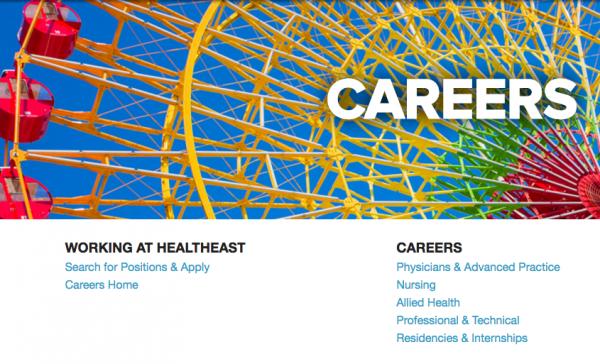 HealthEast Careers Banner